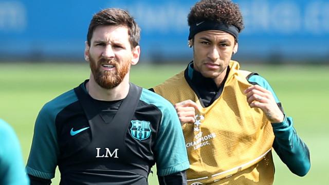 Neymar revela conversa inesquecível com Messi no Barcelona