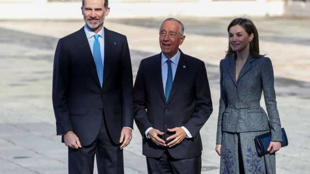 Marcelo termina hoje visita de Estado com o rei Felipe VI em Salamanca