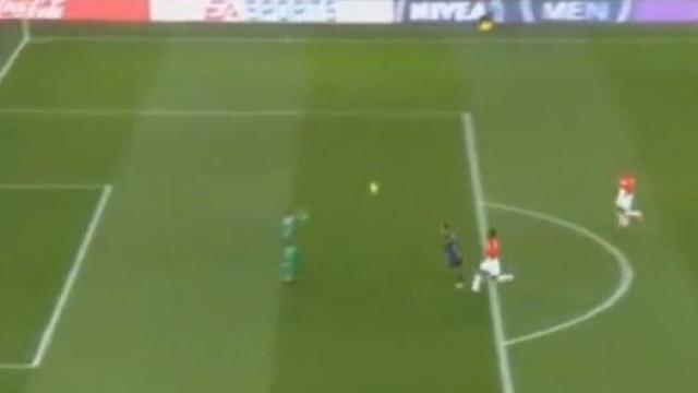 A monumental chapelada de Di María na goleada do PSG
