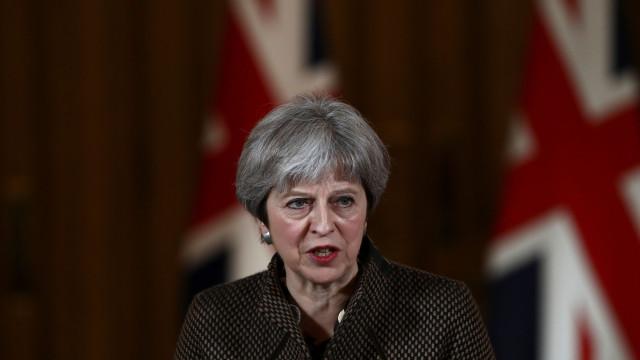 Faltam negociar apenas 5% do acordo de Brexit, adianta Theresa May