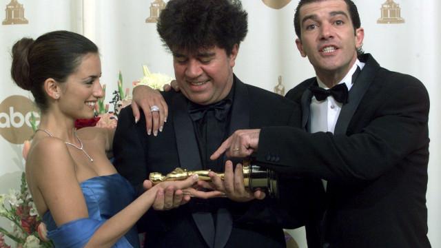 Antonio Banderas e Penélope Cruz voltam a juntar-se em obra de Almodóvar