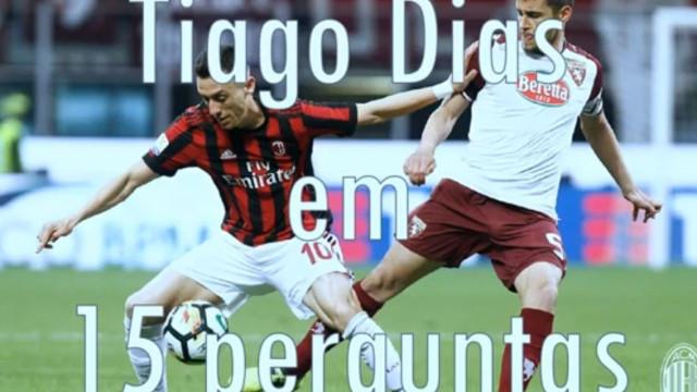 Medos, sonhos e modelos italianas. Os segredos de Tiago Dias