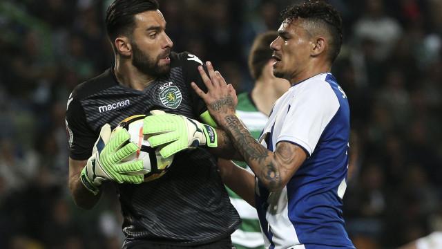 FC Porto terminou Clássico com estatística que fez sorrir Patrício