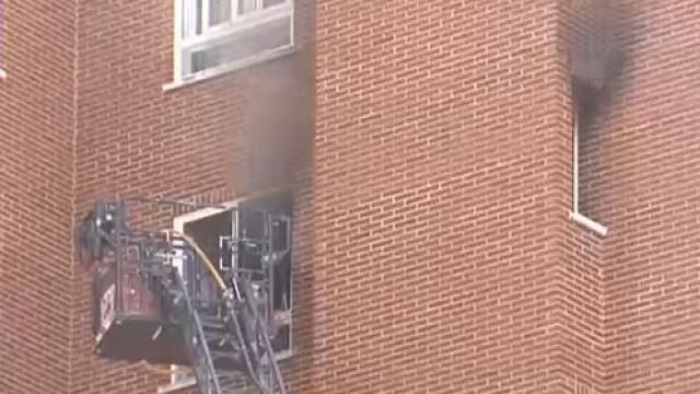 Matou mãe e filha e incendiou casa onde viviam. Acabou detido