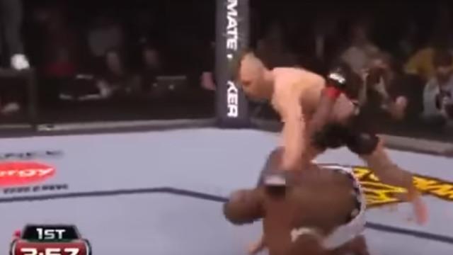 Conor McGregor estreou-se na UFC há 5 anos com este K.O. brutal