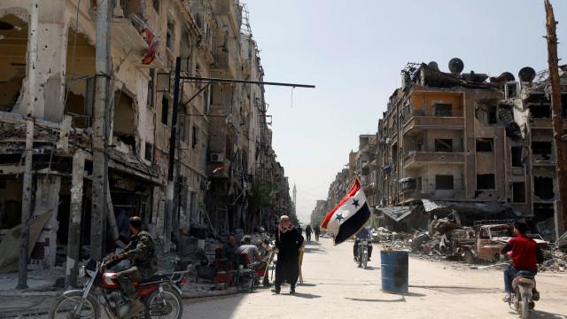 Inspetores da OPAQ já recolheram amostras em Douma, anuncia organização