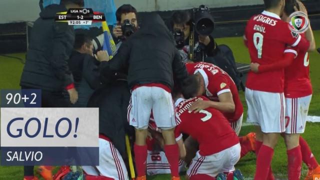 'Cabeçada' de Salvio 'salvou' o Benfica nos últimos instantes