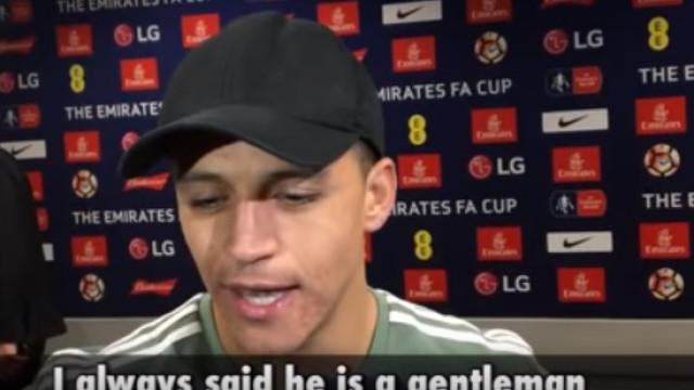 """Sánchez comenta saída de Wenger do Arsenal: """"É um mestre do futebol"""""""