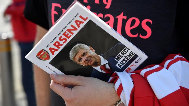 As melhores imagens do início do adeus do Arsenal a Wenger