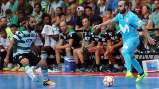 Sporting perde e Inter Movistar faz história na UEFA Futsal Cup