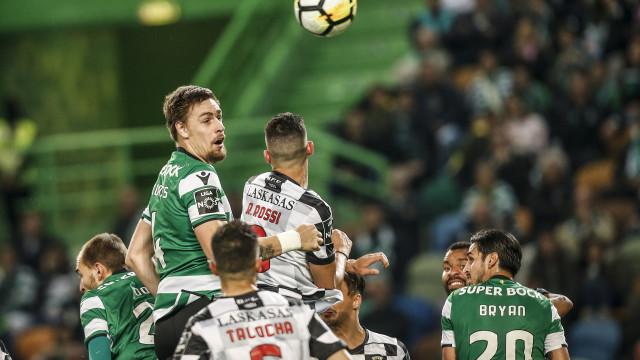 Trio leonino em risco de falhar o dérbi com o Benfica