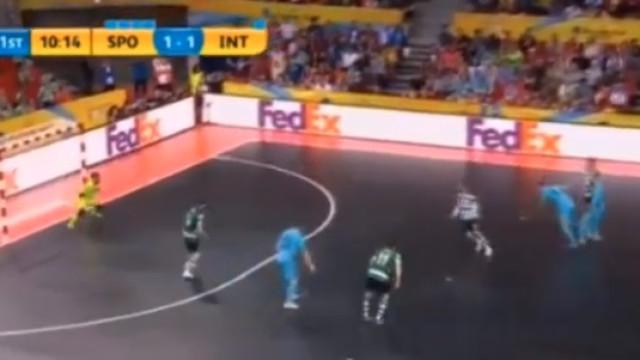 UEFA Futsal Cup: O golaço de Ricardinho que ajudou a derrotar o Sporting