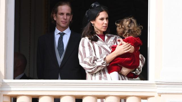 Andrea Casiraghi e Tatiana Santo Domingo foram pais pela terceira vez