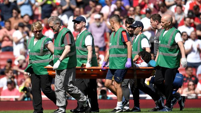 Elneny assustou mas recupera a tempo do Mundial