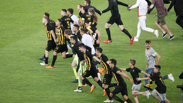 Federação confirma AEK Atenas como novo campeão helénico