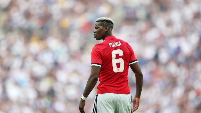 """Pogba dá pista sobre o futuro. """"Por enquanto estou no Man. United"""""""