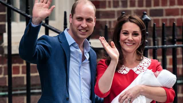 Revelada data do batizado do filho mais novo de William e Kate