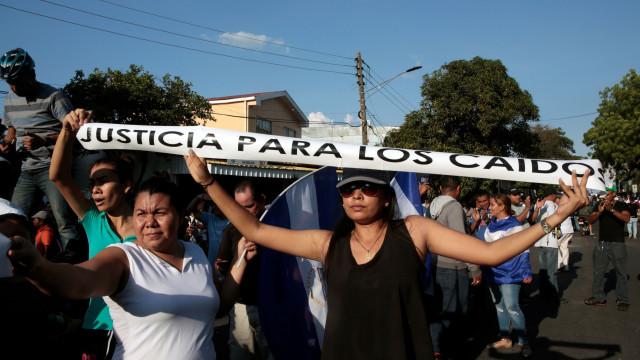 Manifestações na Nicarágua causaram 34 mortos em seis dias