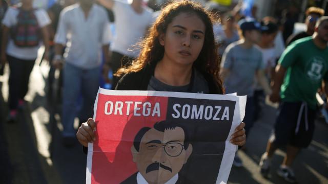 Alguns estudantes que protestaram contra governo da Nicarágua libertados