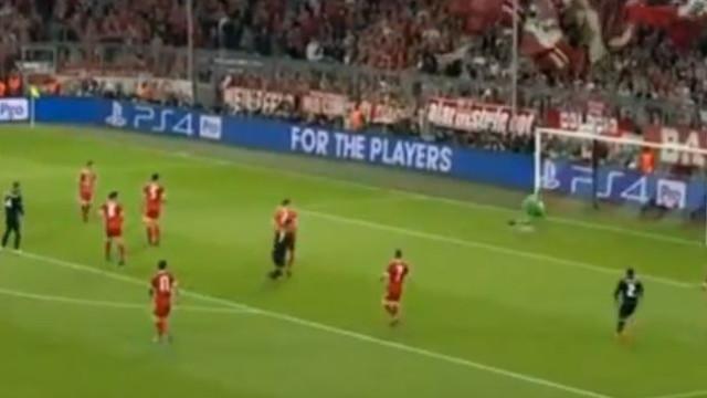 'Golaço' de Marcelo empata marcador em cima do intervalo