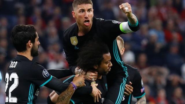 Sergio Ramos trava a euforia e pede um grande Real Madrid na segunda mão