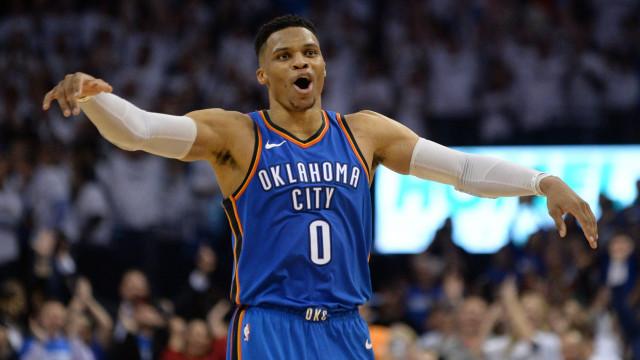 Thunder protagonizam reviravolta histórica na NBA