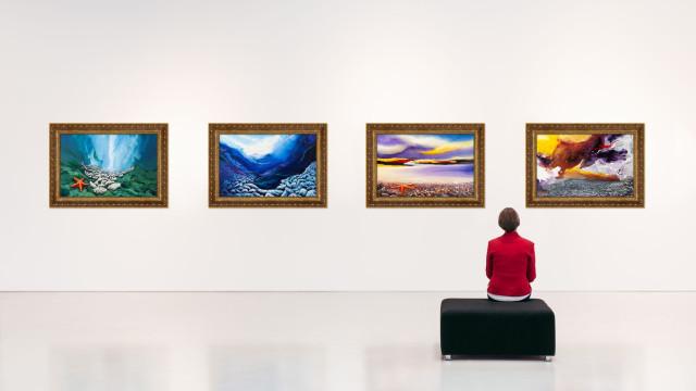 Exposição '2 visões, 2 expressões' abriu em Oeiras