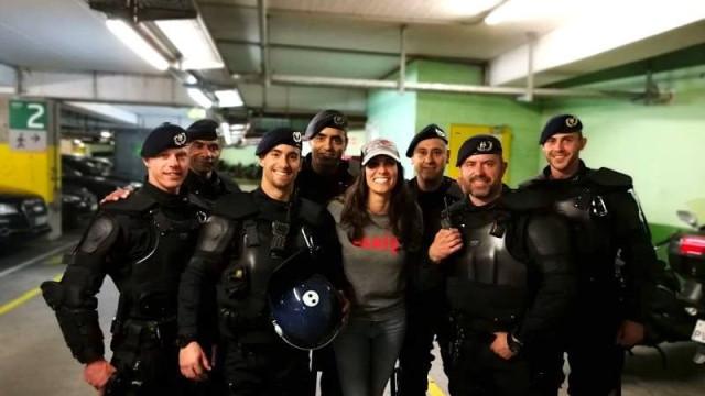"""PSP tem """"reforço"""" especial para a segurança da Eurovisão: Daniela Ruah"""