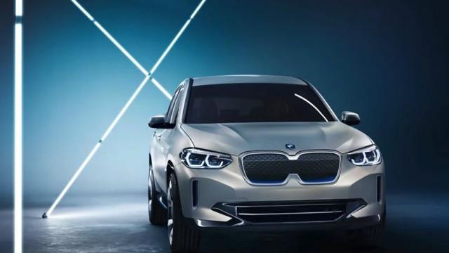 A BMW apresentou o seu jipe elétrico. Conheça o 'concept iX3'