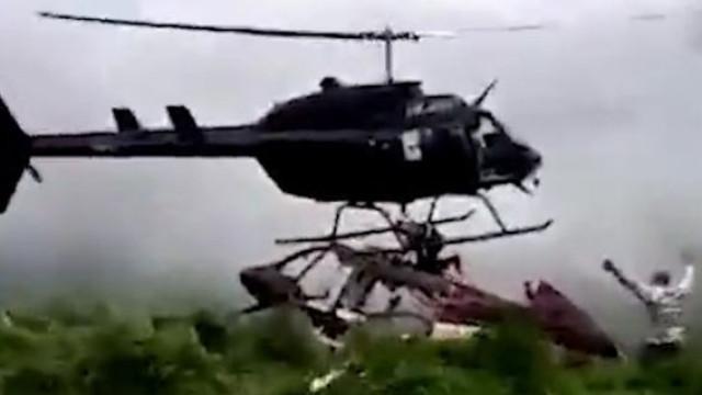 Homem morto por helicóptero que o ia salvar na Colômbia