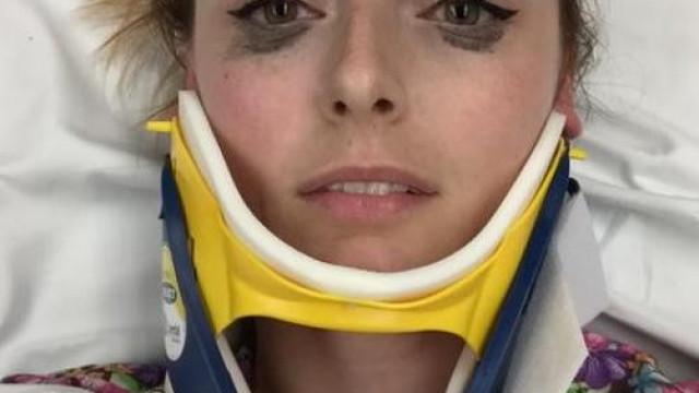 Dá '5 estrelas' a eyeliner que não borrou após acidente e torna-se viral
