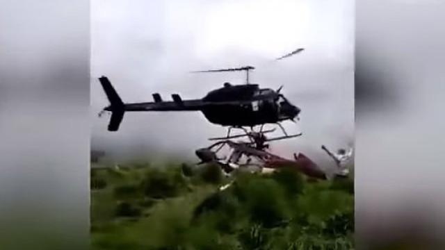 Homem morre ao ser atingido por hélice de helicóptero que o ia salvar