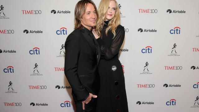 Nicole Kidman e Keith Urban mostram o amor que os une