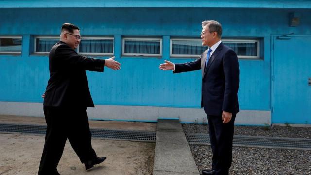 Coreias já preparam próxima cimeira entre Kim Jong-un e Moon Jae-in