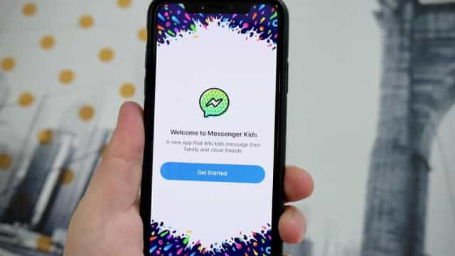 A app de mensagens para crianças do Facebook pode vir a ser eliminada