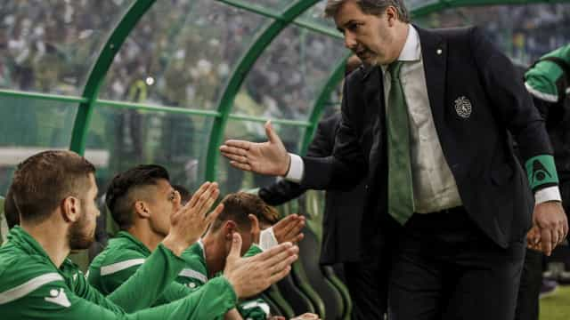 """""""Ninguém foi suspenso"""", garante Bruno de Carvalho"""