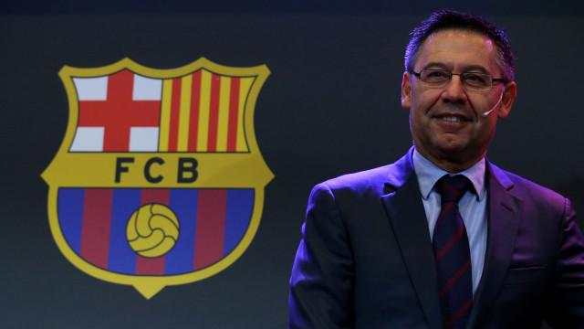 Presidente do Barça aborda possibilidade Griezmann e situação de Gomes