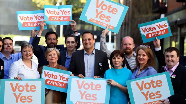Facebook quer proteger referendo sobre o aborto na Irlanda