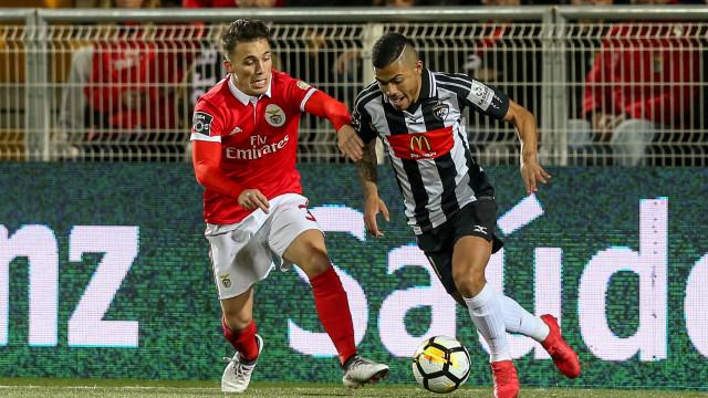 Portimonense preparou surpresa no relvado para a receção ao Benfica