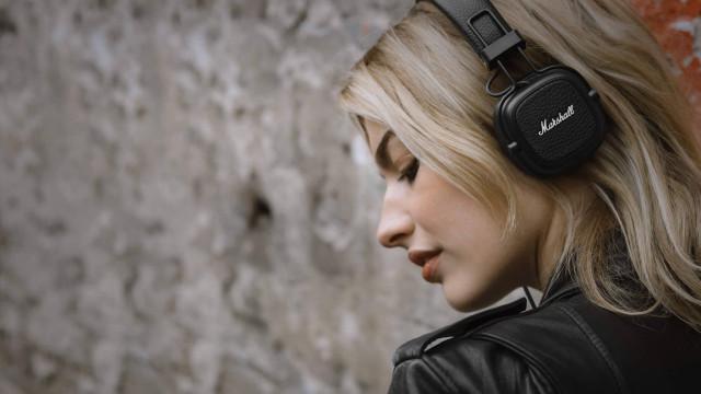 Marshall revela terceira geração dos seus headphones