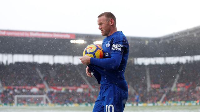 """Rooney """"furioso"""": Não conta para Marco Silva e ruma à MLS"""
