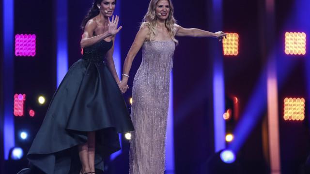 """Daniela Ruah: A """"princesa"""" que vestiu a cor da esperança na Eurovisão"""