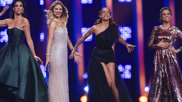 Eurovisão: Revelados os looks das apresentadoras para a grande final