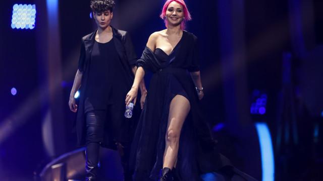 Candidatas portuguesas reagem à derrota na Eurovisão
