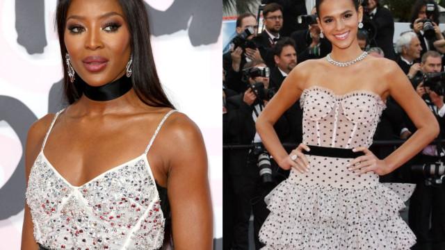 Bruna Marquezine brilha ao lado de Naomi Campbell em Cannes