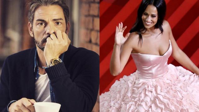 """Cláudio sobre vestido de Rita Pereira: """"Superou todas as expectativas"""""""