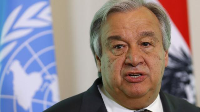 """Guterres está a seguir """"de perto a evolução"""" no Saara Ocidental"""