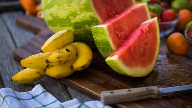 Potássio: Há muitos alimentos onde o encontrar, além da banana