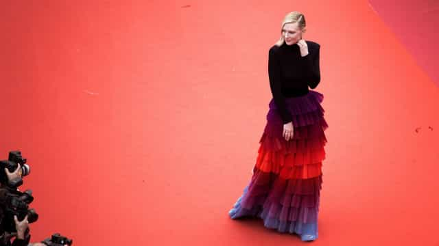 Ilusão de ótica? Vestido de Cate Blanchett deixa fãs intrigados