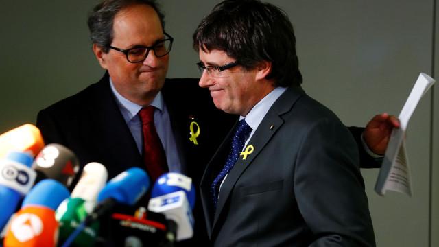 Quim Torra lança proposta de diálogo a Governo espanhol e Rajoy aceita